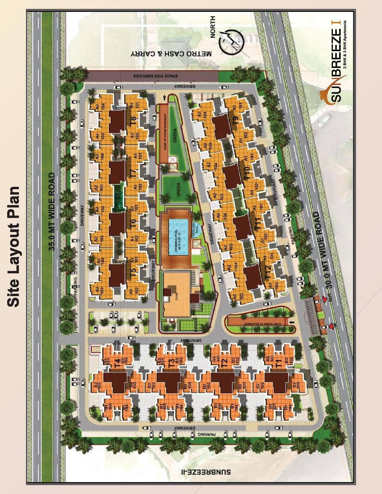 Sun Breeze I Site Layout Plan