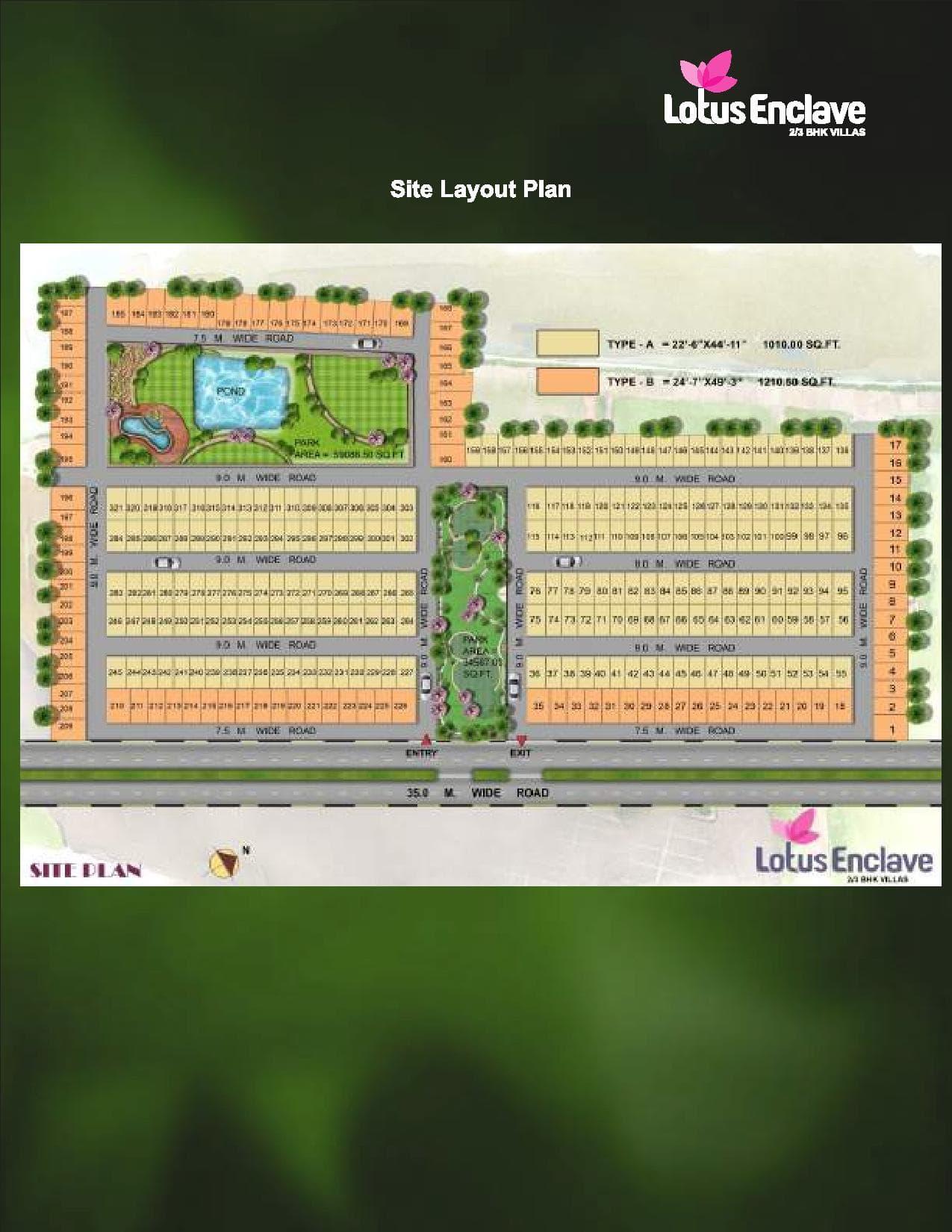 Lotus Enclave Site Plan