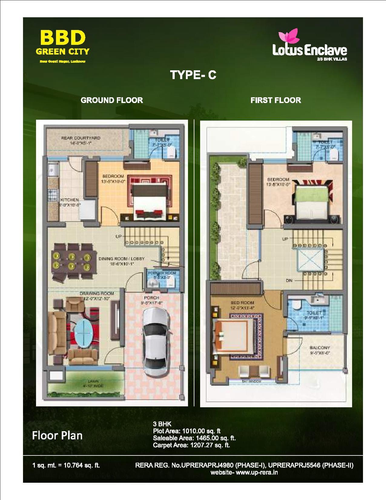 Lotus Enclave Type C Ground Floor