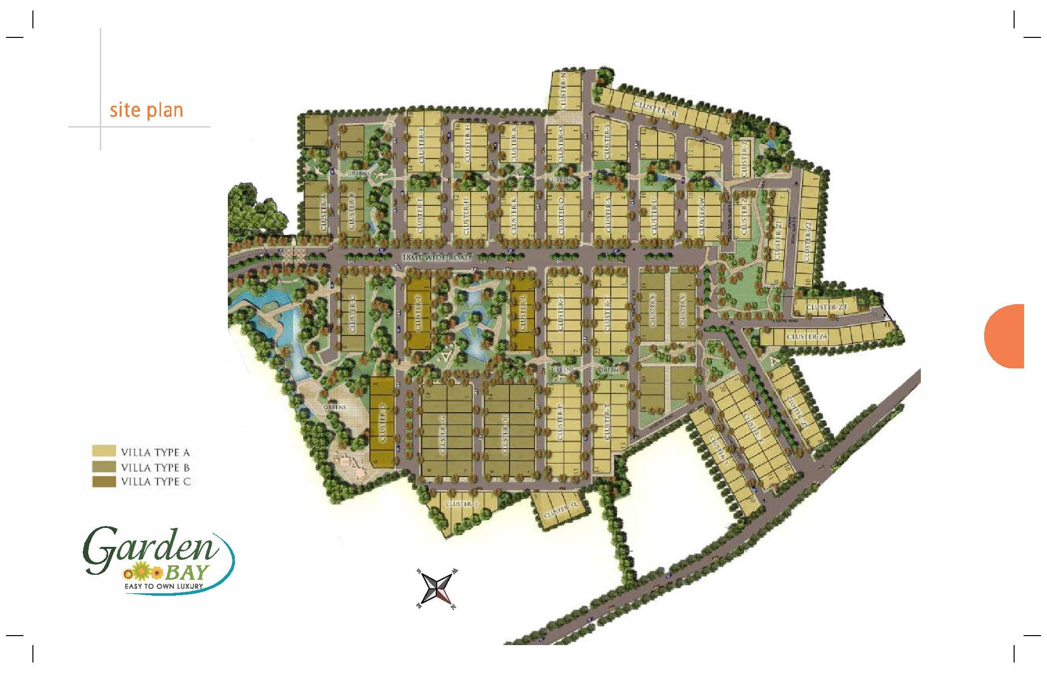 Garden Bay Site Layout Plan