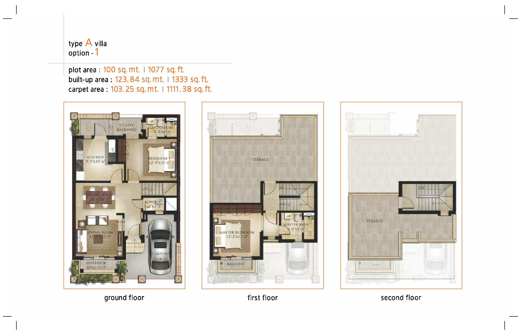 Garden Bay Type A Villa