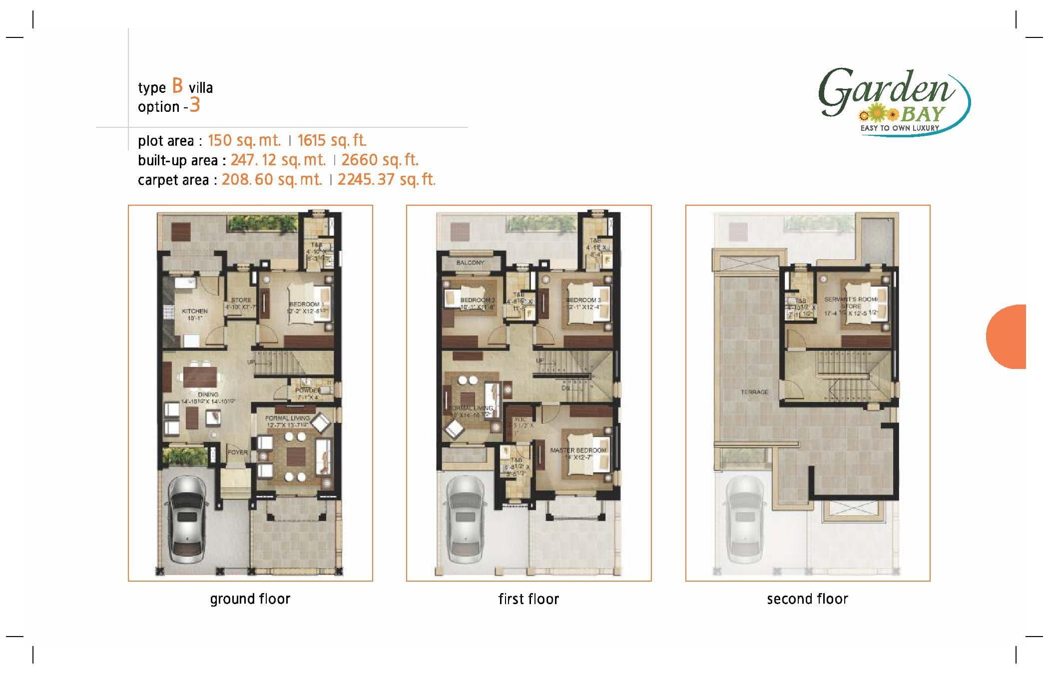 Garden Bay Type B Villa