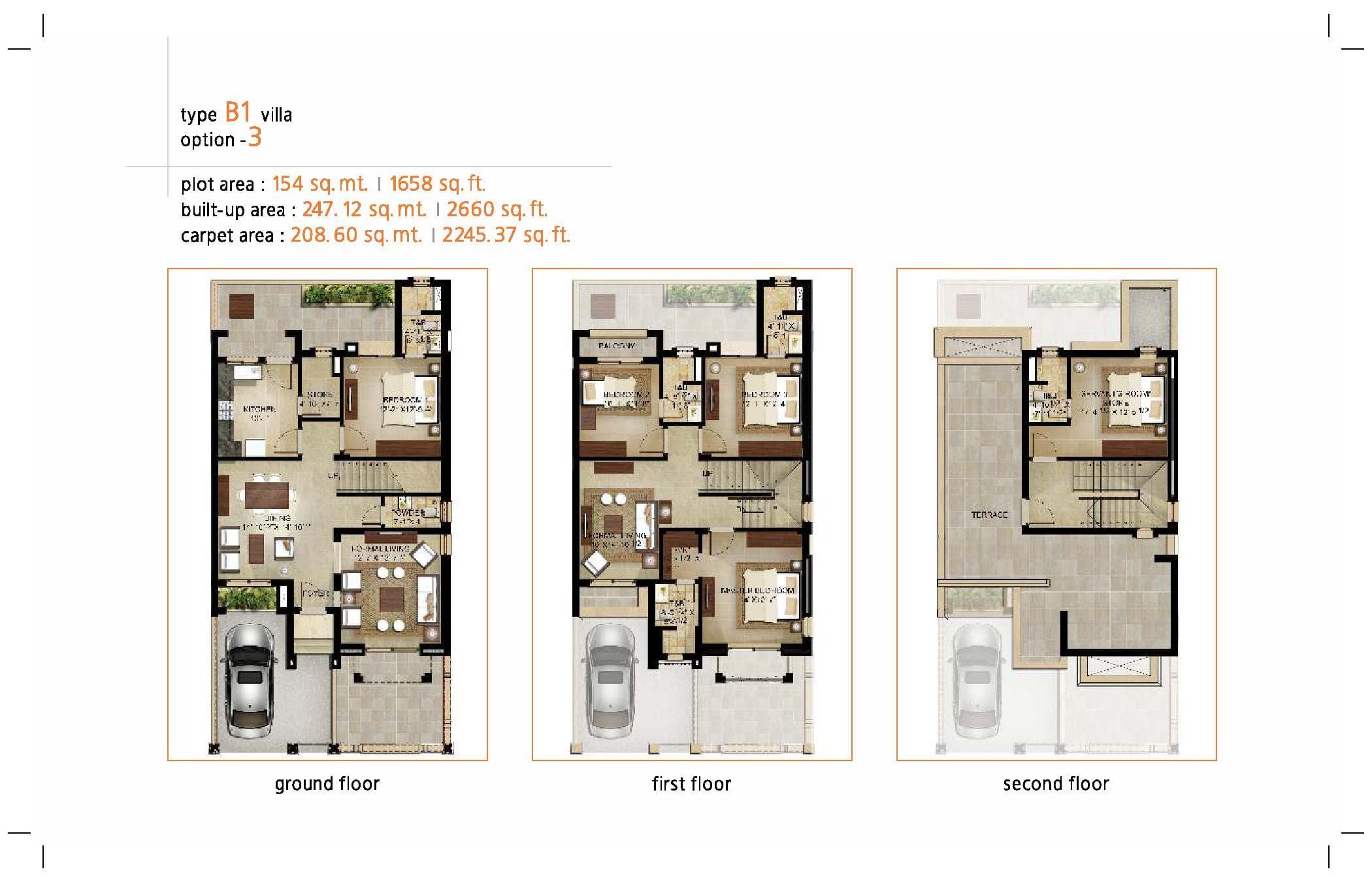 Garden Bay type B1 Villa