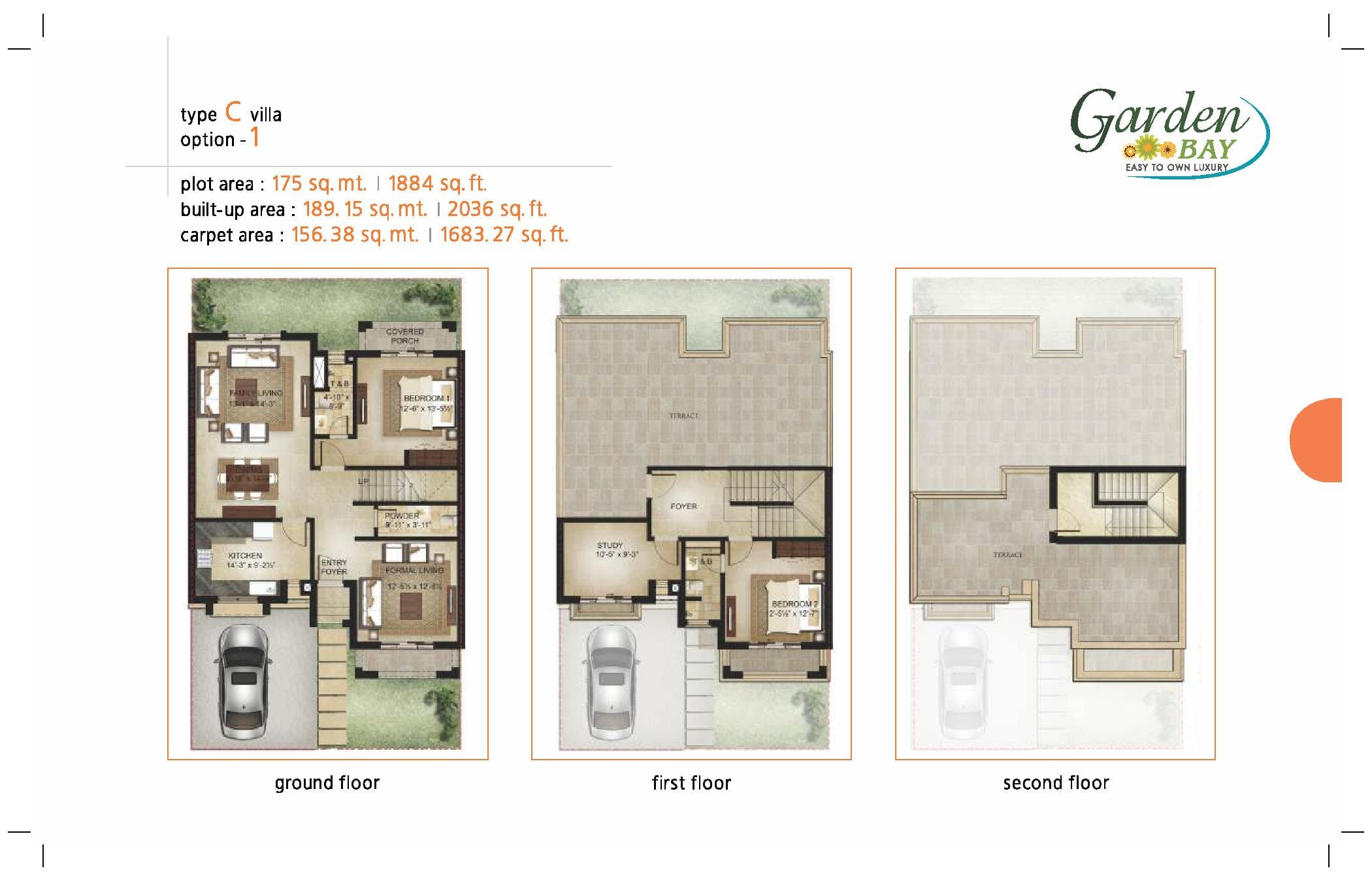 Garden Bay Type C Villa